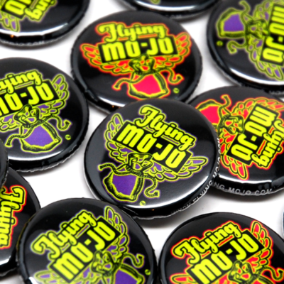 Flying Mojo Buttons